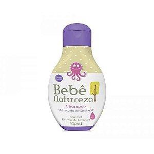 Shampoo Bebe Natureza 230Ml Lavanda