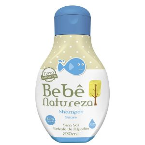 Shampoo Bebe Natureza 230Ml Suave