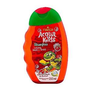 Shampoo Acqua Kids 250Ml Cabelos Lisos E Finos