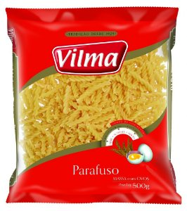 MASSA VILMA 500G PARAFUSO COM OVOS