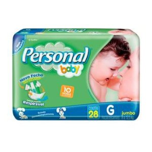 FRALDA PERSONAL BABY JUMBO G 28 UNDS