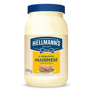 MAIONESE HELLMANNS 500G POTE