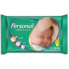 LENCOS UMEDECIDOS PERSONAL BABY C/50UNDS