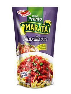 Molho Tomate 340G Marata Napolitano Sache