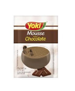 PO P/MOUSSE YOKI 70G CHOCOLATE