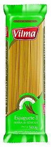 Macarrão Vilma 500G Espaguete N.8 Semola