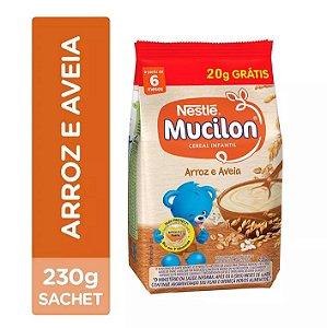 MUCILON 230G ARROZ E AVEIA SACHE