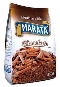 MISTURA DE BOLO MARATA 450G CHOCOLATE