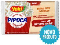 PIPOCA P/MICROO YOKI 90G NATURAL C/SAL