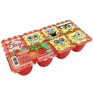 Iogurte Elege 320G Morango Com 8Unidades