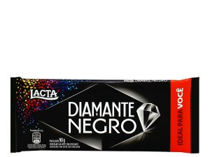 CHOCOLATE BARRA LACTA 90G DIAMANTE NEGRO