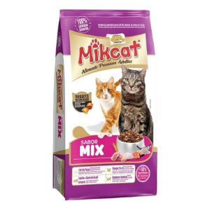 Racao MikCat 500g Carne