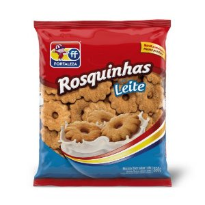 BISC FORT 350G ROSQUINHA LEITE
