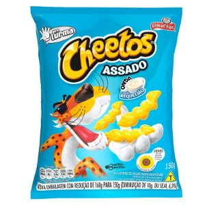 SALGA ELMA CHIPS 104G CHEETOS REQUEIJAO