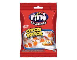 Gelatinas ovos fritos Fini 100G