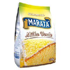 MISTURA DE BOLO MARATA 450G MILHO VERDE