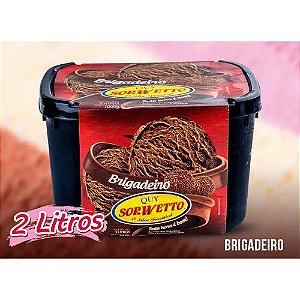 SORVETE QUY SORWETTO BRIGADEIRO 2L