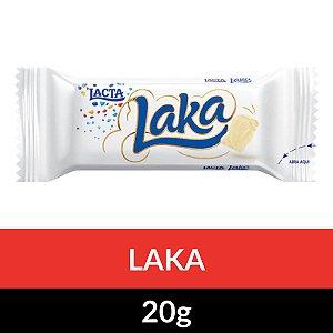 CHOCOLATE LACTA LAKA 20G CHOCO BRANCO