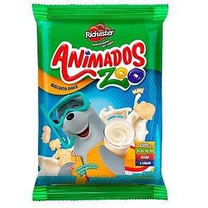 BISCOITO FORTALEZA 100G ANIMADOS ZOO LEITE