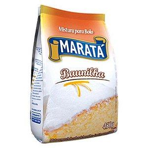 MISTURA DE BOLO MARATA 450G BAUNILHA