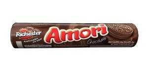 BISCOITO RICHESTER 140G AMORI CHOCOLATE