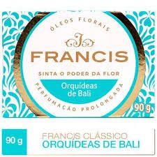 SABONETE FRANCIS LUXO 90G  ORQUIDEAS DE BALI