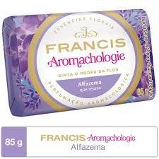 SABONETE FRANCIS SUAVE 85G ALFAZEMA
