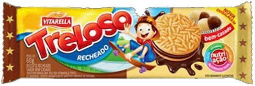 BISCOITO VITARELLA 60G RECHEADO TRELOSO BEM-CASADO