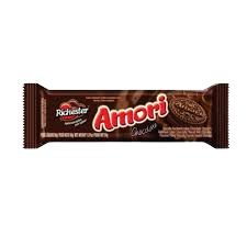 BISCOITO RICHESTER  40G AMORI CHOCOLATE