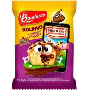BOLINHO BAUDUCCO 40G GOTAS DE CHOCOLATE