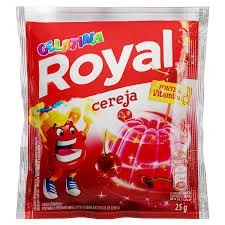 GELATINA PO ROYAL 25G CEREJA