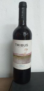 VINHO TRIBUS 750ML MERLOT TINTO SECO