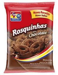 BISCOITO FORTALEZA 350G ROSQUINHA CHOCOLATE