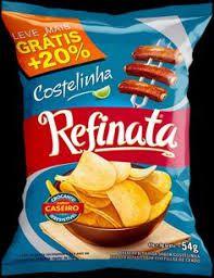 BATATA LISA REFINATA 54G COSTELINHA