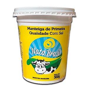 MANTEIGA NATA BRASILEIRA 500G C/SAL