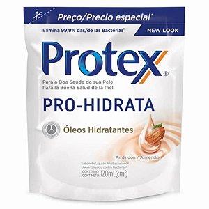 SABONETE LIQUIDO PROTEX 120ML OLEOS HIDRATANTES REFIL