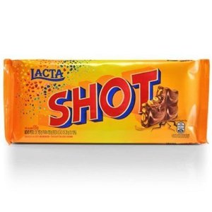 CHOCOLATE LACTA 90G SHOT