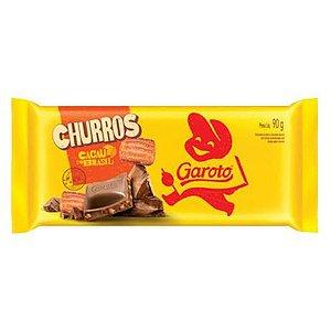 CHOCOLATE GAROTO 90G CHURROS