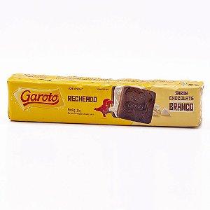 BISC GAROTO 130G RECHEADO CHOCOLATE BRANCO