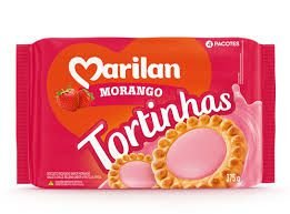 BISC MARILAN 375G TORTINHAS MORANGO