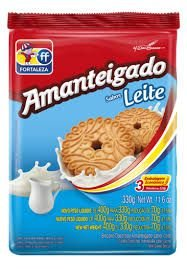 BISC FORT 330G AMANT LEITE