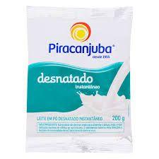 LEITE PO PIRACANJUBA 200G DESNATADO