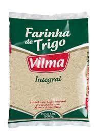 FARINHA DE TRIGO VILMA 500G INTEGRAL