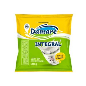 LEITE EM PO DAMARE 200G INTEGRAL