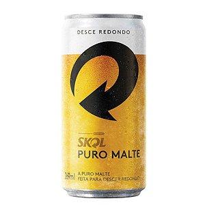CERVEJA SKOL 350ML PURO MALTE