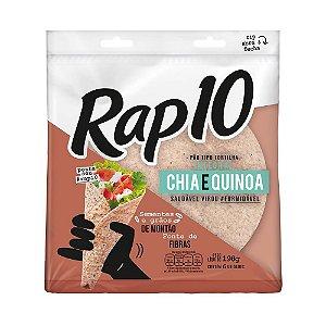 PAO TIPO TORTILHA RAP10 264G CHIA E QUINOA