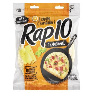 PAO TIPO TORTILHA RAP10 330G TRADICIONAL