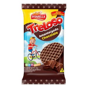 BISCOITO VITARELA 330G AMANTEIGADO TRELOSO CHOCOLATE