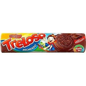 BISCOITO VITARELLA 130G RECH TRELOSO CHOCOLATE