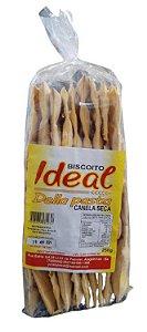 BISCOITO IDEAL 250G CANELA SECA